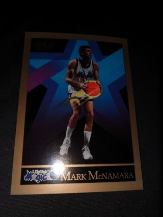 Basketball Card - Mark McNamara 1990