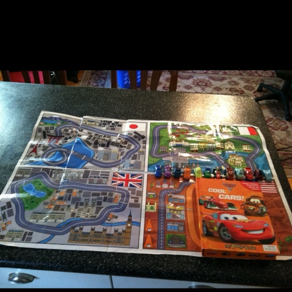 Free Disney Cars Cool Cars My Busy Books Includes A 10