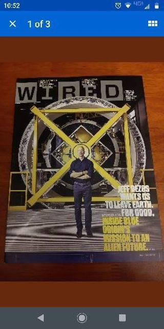 Wired Magazine November 2018 Jeff Bezos Alien Future