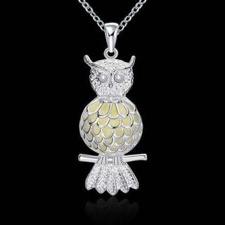 Luminous Owl Pendent - Lights up at Night