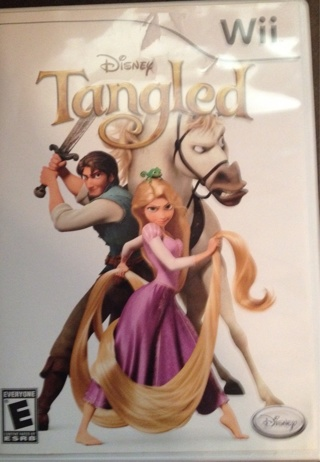 Tangled Wii Game+Free Shipping