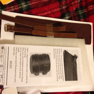 NIP KIT Real Leather Cahill Wristband to sew
