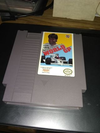 Michael Andretti's World GP - NES Nintendo - Shipped with Tracking