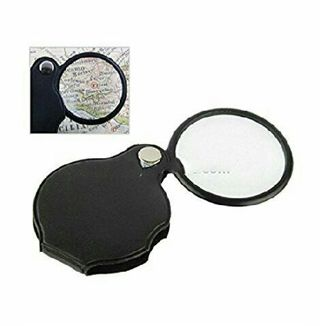 Brand new pocket folding magnifying glass
