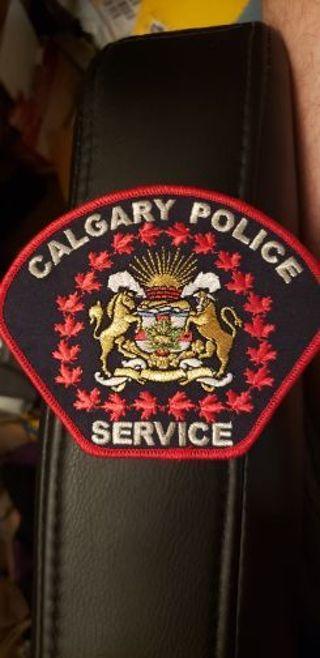 Calgary Police patch