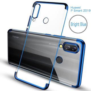 For Huawei Y9 P Smart 2019 P30 Pro Honor 8C 8X lite 8A P Smart Plus Soft TPU Silicon Plating for H