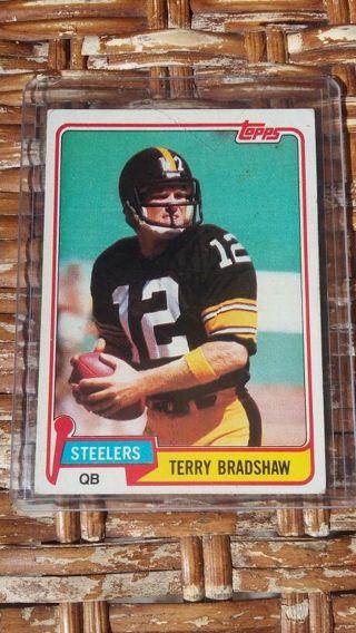 1981 Terry Bradshaw Card