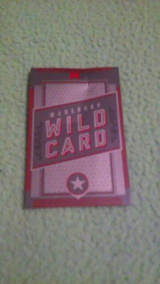 Free: Marlboro Wild Card (Get your Gift) - Other - Listia com