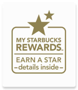 (1) Starbucks Rewards Star