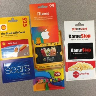 $25 gift card winner gets to pick one of choice