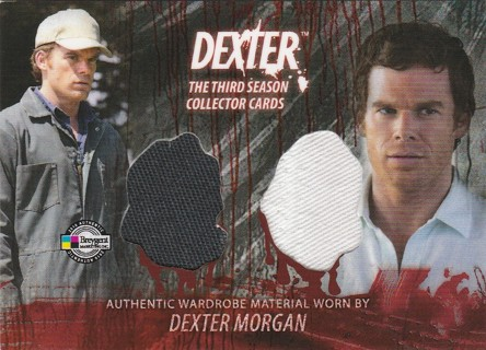 DEXTER Season 3 ~ Dexter Morgan Authentic Show Worn Dual Wardrobe Costume RARE