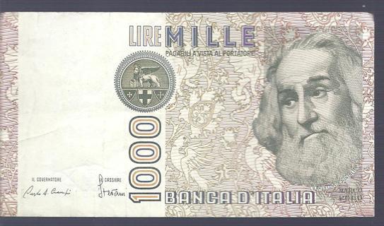 Free 1982 1000 Lire Mille Banca Ditalia Coins Listiacom