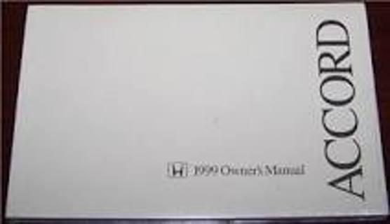 Free: honda accord 1998-2001 service and repair manual+1999 honda.