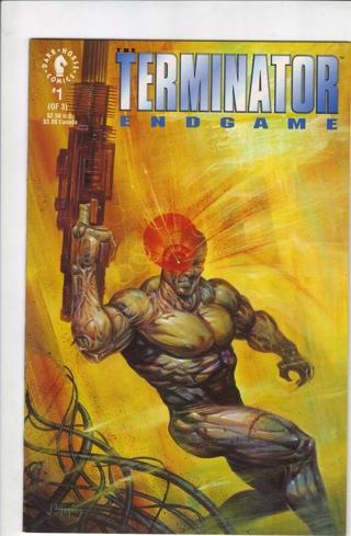 SET OF (3) TERMINATOR ENDGAME ~ COMIC BOOKS