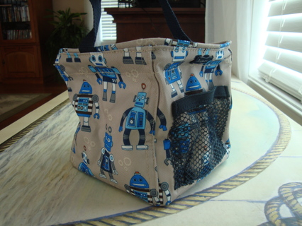 Thirty one Gifts Playful Robots Tote