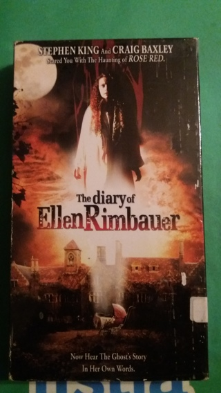 vhs the diary of ellen rimbauer free shipping