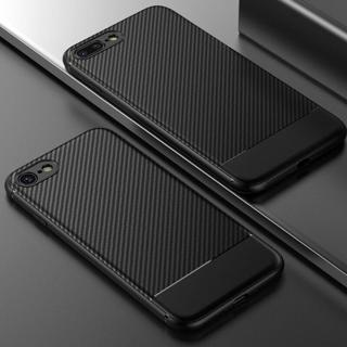 Shockproof Silicone Soft TPU Carbon Fiber Case Cover For iPhone X 7 8 XS Max XR