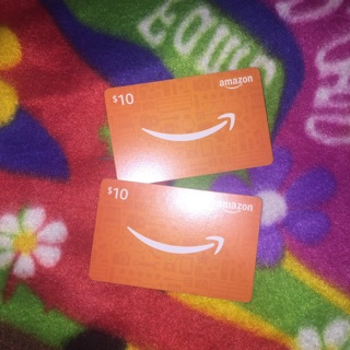 Amazon Gift Cards $20 Code GIN ONLY