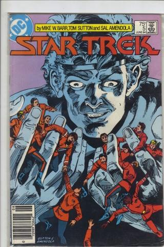 DC COMIC STAR TREK