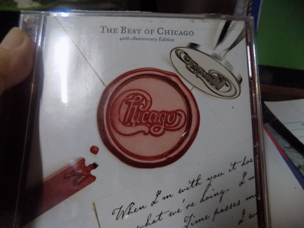 The Best of Chicago 40th Anniversary Editon CD   2 disk set
