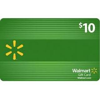 Wal-Mart Gift Card $10.00