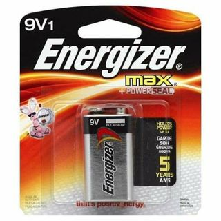 ✔~ Energizer 9V1 BATTERY MAX + POWERSEAL~ ✔