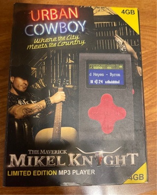 Mikel Knight Signed MP3 Player
