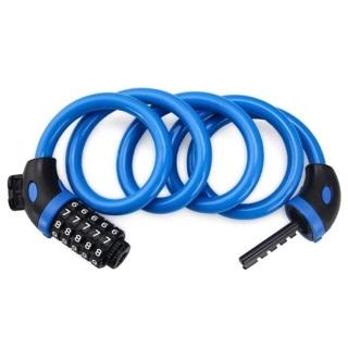 Hexu Bike Lock, 4-Feet x 1/2 Inch Heavy Duty Bike Lock Cable Set