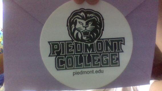 Piedmont College Sticker