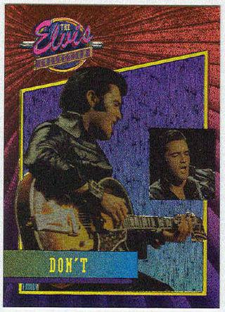 Elvis Presley 1992 Foil cards