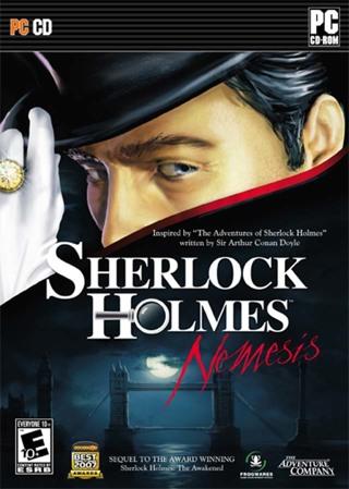 Sherlock Holmes NEMESIS PC Video Game