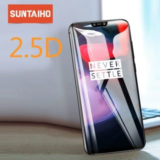 Oneplus 6 Tempered Glass,Suntaiho 2.5D HD Oneplus 5t Tempered Glass HD Full Coverage Oneplus 5