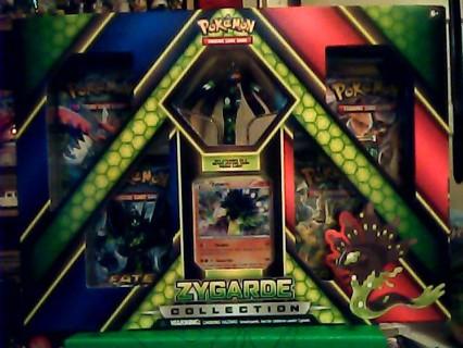 Pokemon TCG Zygarde Collection Box Booster Packs Figure Promo Holo
