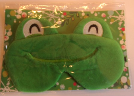 Frog Sleep Mask Made By Wink Cosmetics New In Package