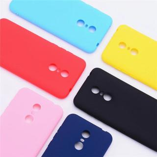 Color Matte Phone Cases For Xiaomi Redmi 5 / 5 Plus Case Silicone Soft TPU Back Cover For Xiaomi R