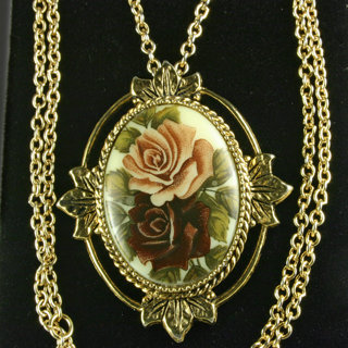 Free vintage sarah coventry victorian revival rose marie pendant free vintage sarah coventry victorian revival rose marie pendant aloadofball Images