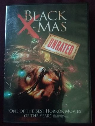 BLACK XMAS DVD USED EXCELLENT CONDITION