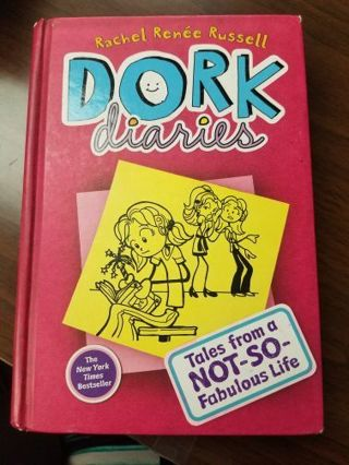 Dork Diaries Tales from a Not-So-Fabulous Life Hardcover Book