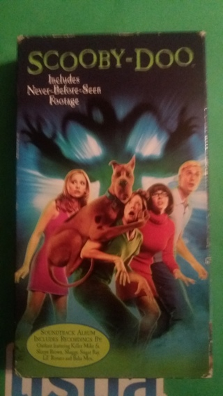 vhs scooby-doo free shipping
