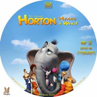 Horton hears a who dvd disc only