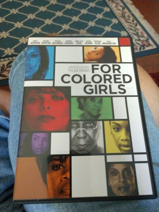 For Colored Girls DVD
