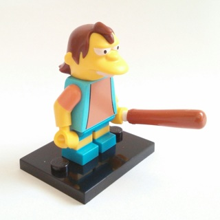 New Nelson Minifigure Building Toy Custom Lego