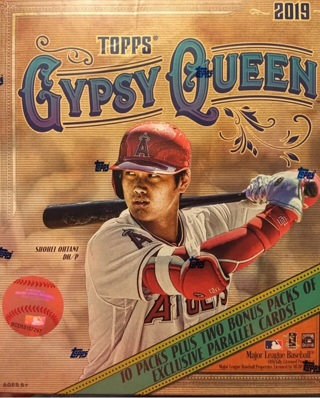 2019 Topps Gypsy Queen Monster Box BNIB