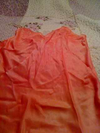 Hand Dyed Silk Cami