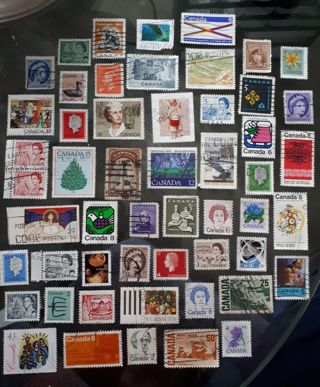 Selection of Stamps From - *CANADA* *(Please Read Details)*