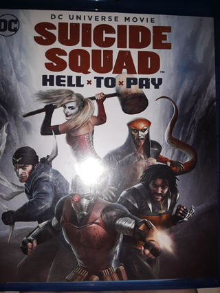 NEW Suicide Squad HELLxTOxPAY BLU-RAY + DVD + DIGITAL