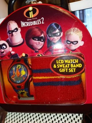 LCD. Watch and sweat band seat