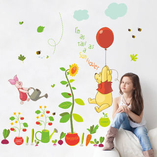 Baby Room Removable Winnie The Pooh Wall Sticker Vinyl Decals For Nursery Decor