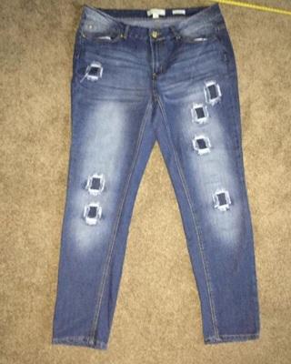 Nicki minaj Patch Jeans 34 X 29  13/14
