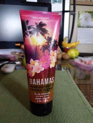 Bath & Body Works Bahamas body cream